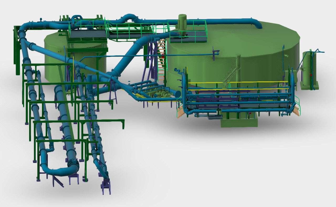 Pipe Plant Model 2 Scan Hub