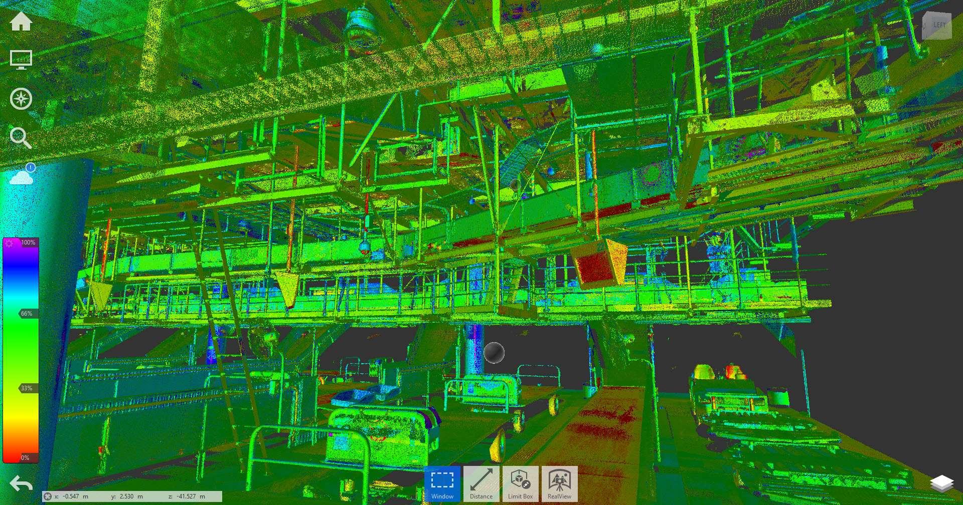 3D Laser Measurement of Baggage Handling Systems 2 - Scan Hub